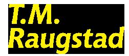 TM raugstad logo uten symbol